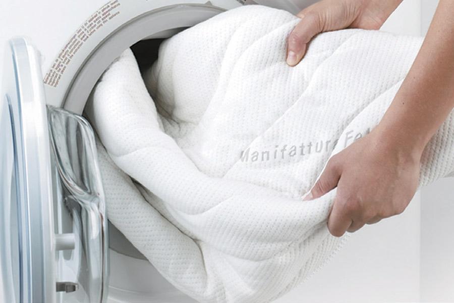 Fodera materasso lavabile in lavatrice a 60°C